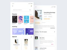 Store & Details page