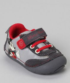{Gray Mickey Mouse Shoe by Stride Rite}