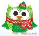 Lynnie Pinnie Christmas winter owl