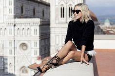 Tendência – Lace Up Flats | Sutileza Feminina