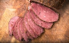 A recipe for goose pastrami, best made with large geese like Canada geese and domestic geese. You cure the goose, then coat in spices and then smoke it.