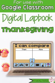 Your students will love learning about Thanksgiving this fall with this digital interactive notebook using Google Slides! This is a fun, interactive, digital activity that can be incorporated into your social studies lessons using Google Classrooms. This is a great hands-on way to teach kids about the Pilgrims & Native Americans. Great for Distance Learning! These activities for Kindergarten, 1st, & 2nd Grade Elementary kids include label, matching, graphic organizers, writing, & more. Holiday Activities For Kids, Thanksgiving Activities, Classroom Activities, Kindergarten Blogs, 1st Grade Science, Teacher Organization, Pilgrims, Science Lessons, Interactive Notebooks