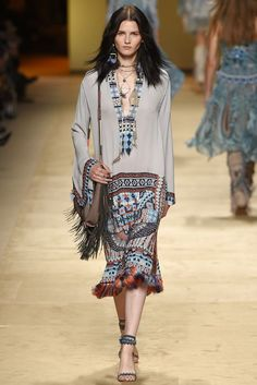 Etro Spring 2015 Ready–to–Wear. #SS15 #MFW: