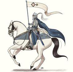 #Fingolfin #Rochallor by gandalfwho