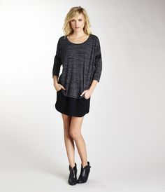 Dropped Shoulder Scoop Neck Top - Knits & Tees - Tees & Tops - Shop All | Michael Stars