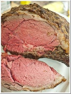 The Perfect Prime Rib.  This is a GREAT and simple recipe!  Shes nailed it.  I made it - its the best!