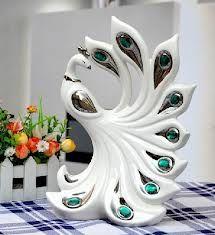 ceramic peacock