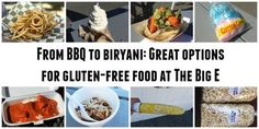 From BBQ to biryani: Great options for gluten-free food at The Big E Foods With Gluten, Gluten Free Recipes, The Big E, Biryani, Free Food, Bbq, Barbecue, Barbecue Pit, Gluten Free Menu