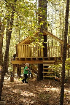 I want to build this for my kids. Once I have a house with a forested backyard and before they are too old to not play in it.