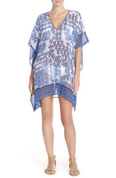 Tommy BahamaMedallion Print Chiffon Tunic available at #Nordstrom