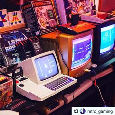 #Repost @retro_gaming with @repostapp  At Retro Rumble I always host a competition Race for Philips Videopac G7200 and Metagalactic Llamas Battle at the Edge of Time for the VIC20 were two of the games people competed in _  #PhilipsVideopac #Videopac #VideopacG7200 #VIC20  #GameNight #RetroGames #RetroGaming #RetroRumble #Game #Games #Gaming #RetroGameRoom #GameRoom