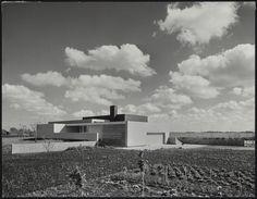 House Van den Doel (1957-58) in Ilpendam, the Netherlands, by Gerrit Rietveld