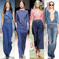 Hot Denim Trend for 2011: Flare and Wide-Leg Jeans