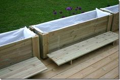 Planter Boxes, Planters, Hanging Canvas, Outdoor Furniture, Outdoor Decor, Outdoor Stuff, Artist Canvas, Garden Beds, Terrazzo