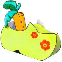 Je eigen schoen knutselen voor Sinterklaas | www.kleertjes.com kinder- en babykleding