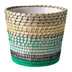 IKEA - RISKORN, Plant pot, A plastic inner pot makes the plant pot waterproof. MAKE THIS