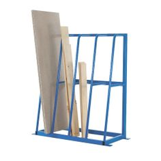 Designed to provide organised storage facilities for lengths of bar, pipe, timber and similar materials. Fully welded construction, finished in stove enamel blue. Pre-drilled ready for bolting to the floor (fixings not supplied). Metal Projects, Welding Projects, Diy Projects, Poster Storage, Welding Shop, Welding Tools, Diy Tools, Art Studio At Home, Steel Racks