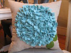 flower pillow