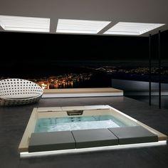 Seaside #Teuco #minipool for a patio or veranda your personal paradise #outdoor