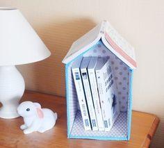 DIY : maison repose livre