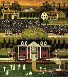 Charles Wysocki Cotton Country