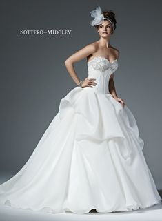#couture #weddingdress #ballgown #sottero&midgley