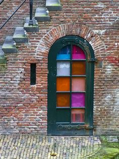 Coffee bar door, Utrecht by Valentinian, via Flickr
