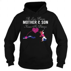 The Love Between Mother and Son - Gambia United Kingdom - #teen #wholesale sweatshirts. CHECK PRICE => https://www.sunfrog.com/States/The-Love-Between-Mother-and-Son--Gambia-United-Kingdom-Black-Hoodie.html?id=60505