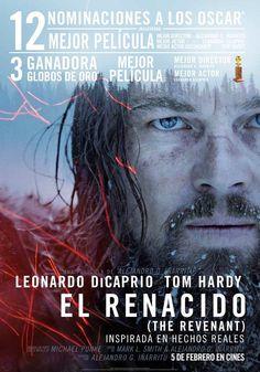 El Renacido / Dir: Alejandro G. Iñárritu. Intèrprets: Leonardo DiCaprio, Tom Hardy, Will Poulter.