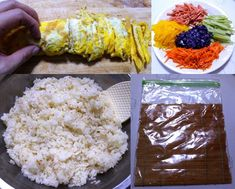 모르면 손해!!예쁘고 이색적인 김밥 12가지 종류 Appetisers, Korean Food, Rice, Cooking Recipes, Korean Cuisine, Chef Recipes, Laughter, Jim Rice