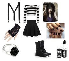 """""""Laughing Jack Outfit"""" by flower-sanity on Polyvore featuring DailyLook and LeiVanKash"""