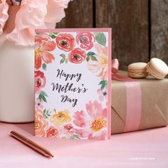 Pretty Floral Mother's Day Cards