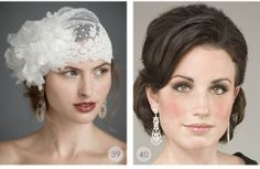 Wedding Hairstyles: 40 Striking Bridal Hair Designs For Your Big Day | Wedding Photography Design