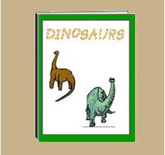 "The thematic unit eWorkbook titled ""Dinosaur""  gives facts about their size, where they lived, what they ate, fossils and skeletons. Some of the dinosaurs mentioned are the Tyrannosaurus Rex, Stegosauraus and others.   Activity worksheets are included."