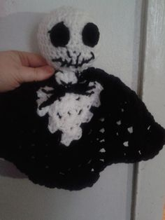 crochet Nightmare Before Christmas baby Jack lovie 1ac368e61643c