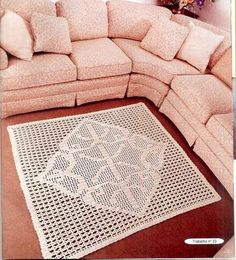 Crochet and arts: Carpets crocheted