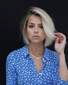 the only blonde bob that matters in this moment cut: Short Bob Hairstyles, Cool Hairstyles, Medium Hair Styles, Short Hair Styles, Platinum Blonde Bobs, Platinum Bob, Short Blonde, Blonde Blunt Bob, Blond Bob