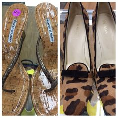 Manolo & Prada, at Arc's Value Village.