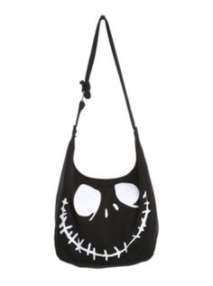 The Nightmare Before Christmas Jack Face Hobo Bag