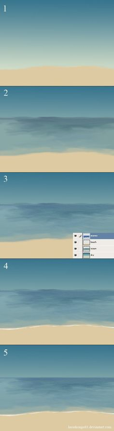 If you're trying to create a simple tropical ocean with a simple beach you can try using this tutorial. You'll need to know your way around Photoshop. I don't explain everything in detail. I create...