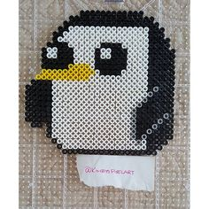 Gunter - Adventure Time perler beads by kimbyspixelart
