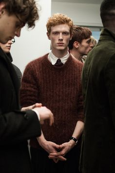 BACKSTAGE: DUNHILL A/W '15