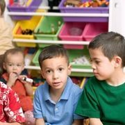Play Activities That Increase Social & Emotional Skills in Preschoolers. Turn-Taking, Pretend play...teaches children to work together. These activities correspond with  SE-4K-4.1 - Display emerging social skills of trying to take turns and talk with others during play.