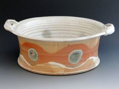 Woodfired Baking Dish/Casserole by suepariseaupottery on Etsy, $60.00