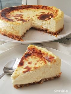 Easy Cake Recipes, Low Carb Recipes, Sweet Recipes, Dessert Recipes, Cooking Recipes, Delicious Desserts, Yummy Food, Cheesecake, Just Bake