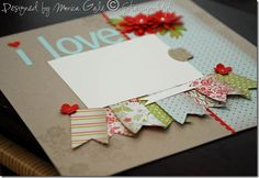 Things I love about you layout - Everyday Enchantment papers