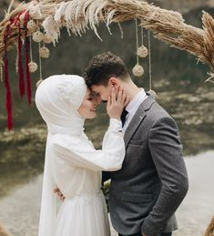 Image may contain: 1 person, wedding and outdoor - Hochzeitskleid Wedding Couple Poses Photography, Couple Photoshoot Poses, Wedding Photoshoot, Wedding Quotes, Wedding Pics, Wedding Couples, Wedding Ideas, Cute Muslim Couples, Romantic Couples