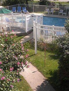 Outdoor Heated Pool & Gardens
