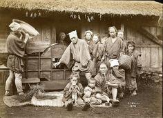 Husking Rice, ca. 1870s