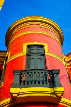A pop of color in Lima, Peru